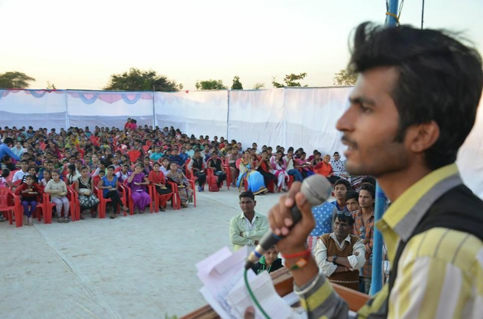 राहुल व्यास:  ग्रामीण परिवेश से काव्य मंचों के गौरव तक