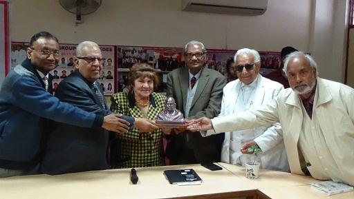 मास्को विश्वविद्यालय के एशियाई एवं अफ्रीकी संस्थान की भारतीय भाषाशास्त्र की प्रोफेसर डॉ. (श्रीमती) ल्यूडमिला खोखलोवा के व्याख्यान का आयोजन