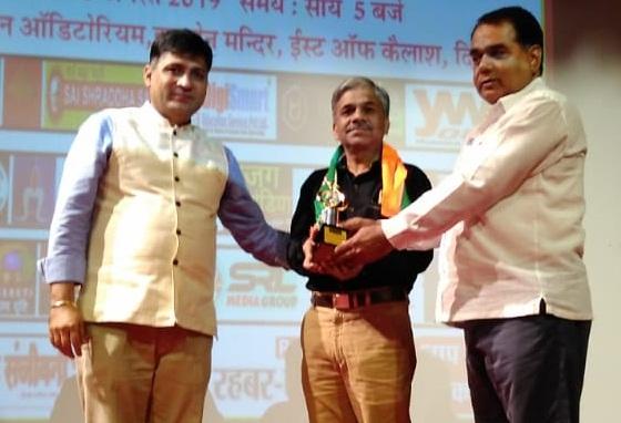 राजेश पुरोहित दिल्ली में गेस्ट ऑफ ऑनर से सम्मानित