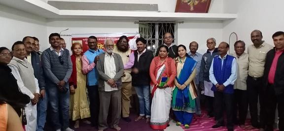 साहित्य मंडल कवि गोष्ठी में कवियों की शानदार प्रस्तुति