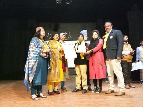 राजेश शर्मा नेशनल अवार्ड से सम्मानित